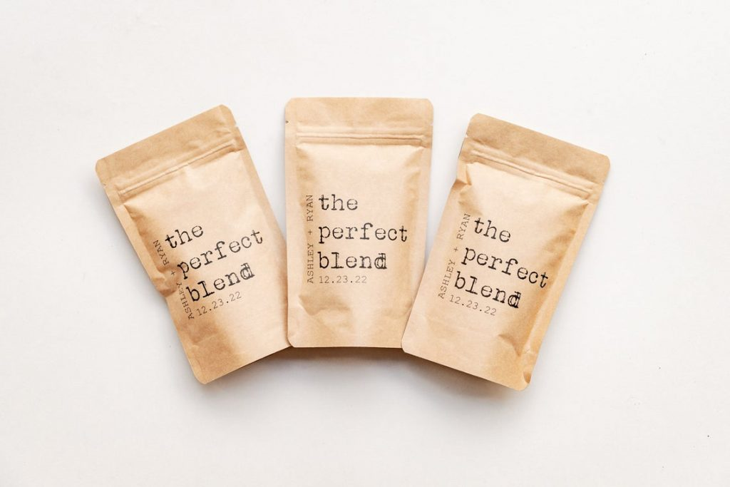 coffee wedding favor