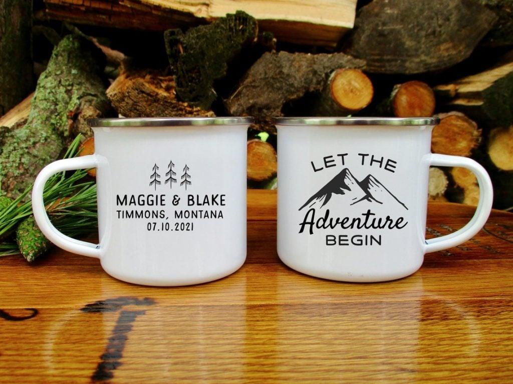 coffee mug favor