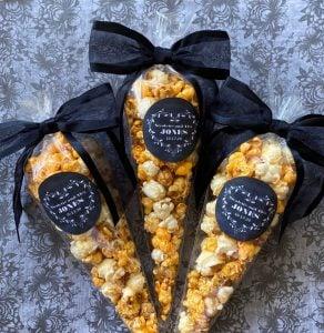 popcorn wedding favor