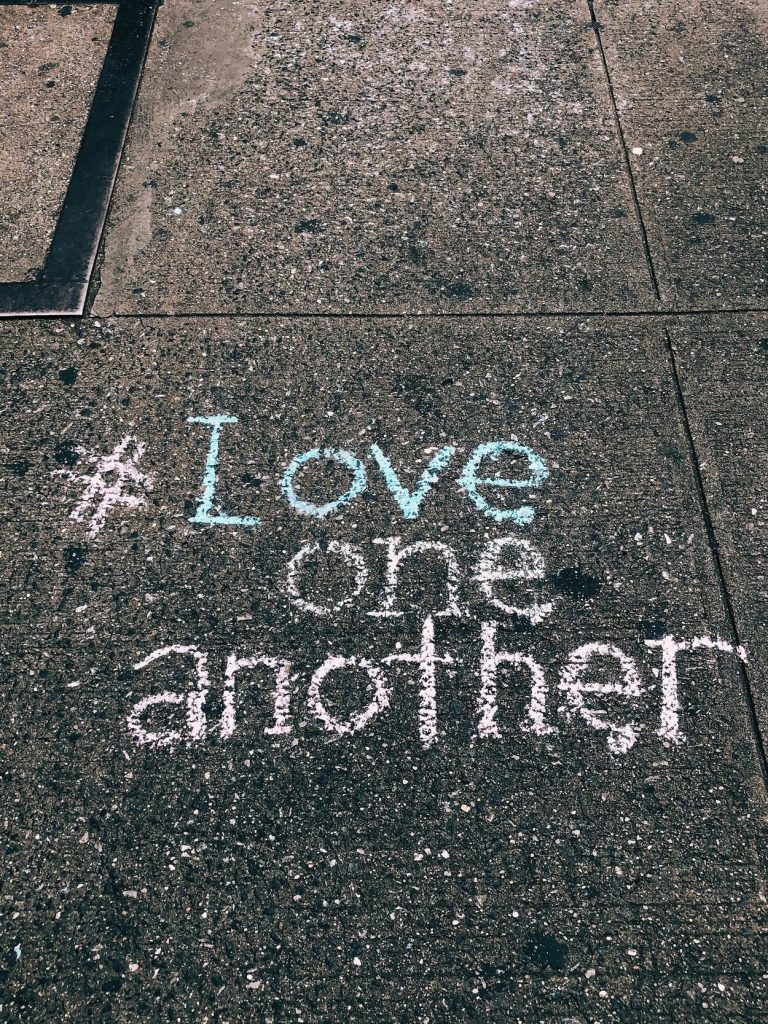 love hashtag