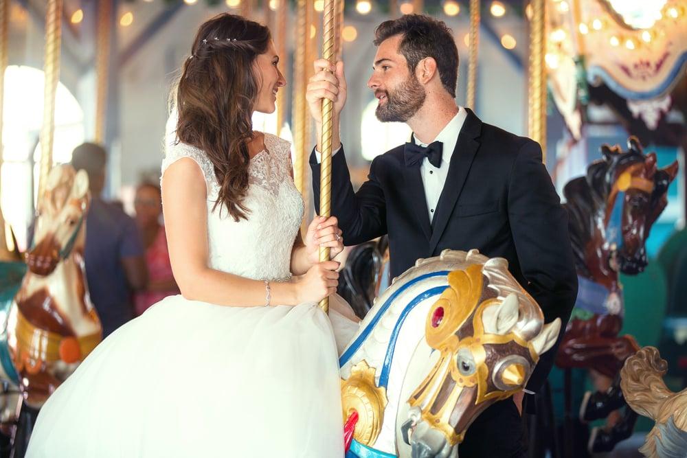 theme park wedding