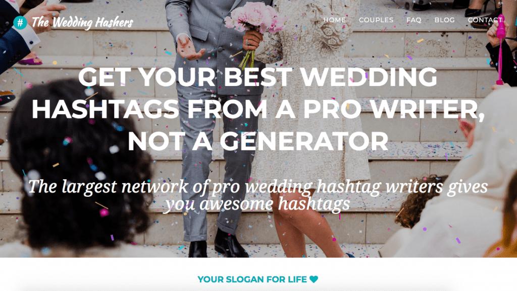 wedding hashers