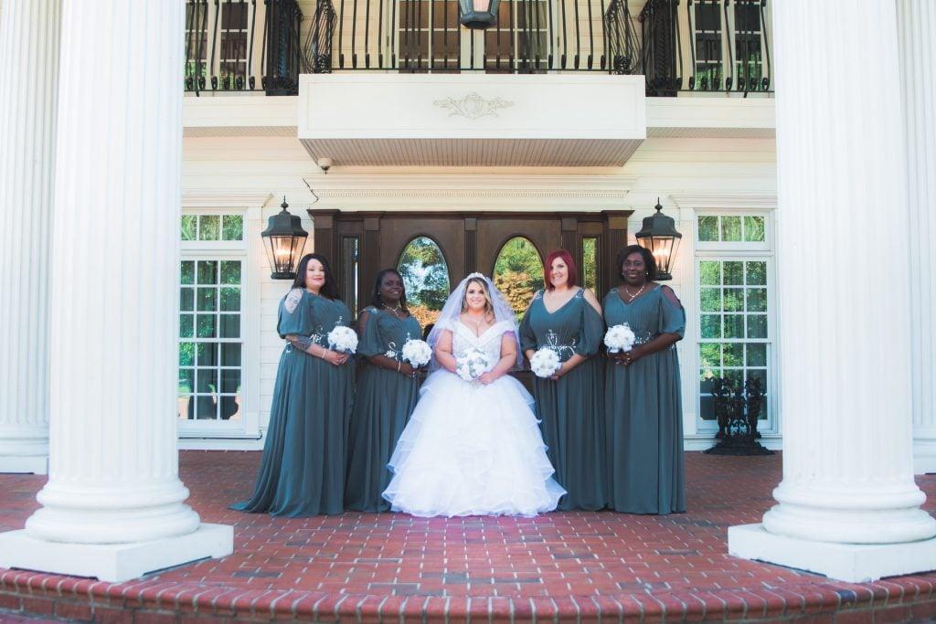 traditional wedding photo