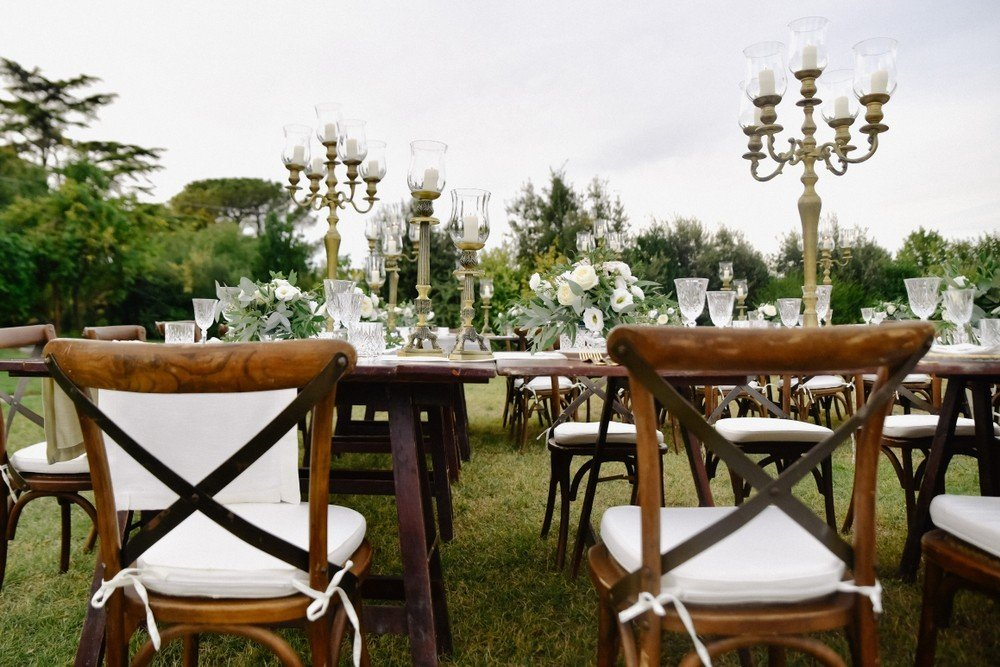 ornate candle centerpieces
