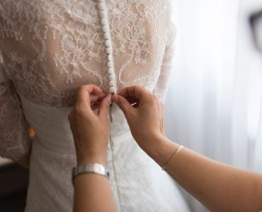 what to do with old wedding dress