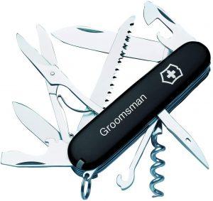 groomsmen pocket knife