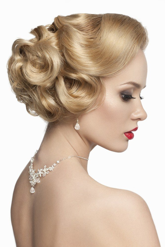 old hollywood curls