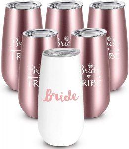 bride wine tumblers