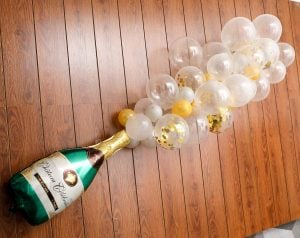champagne balloon