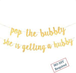 pop bubbly sign