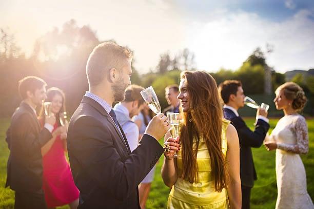 outdoor wedding attire