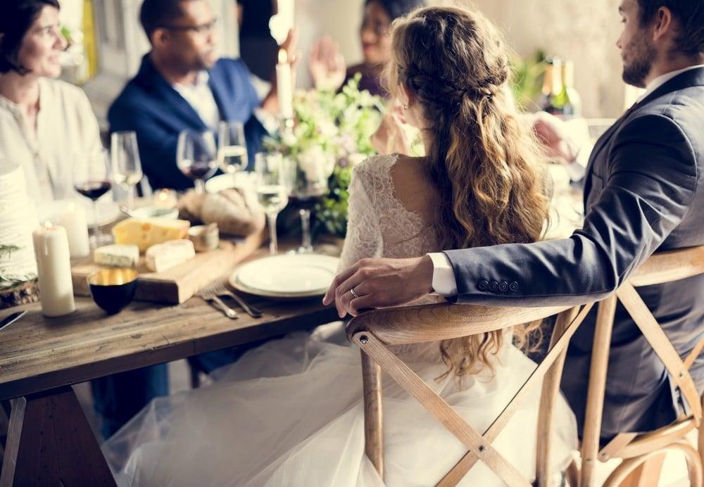 wedding at restaurant