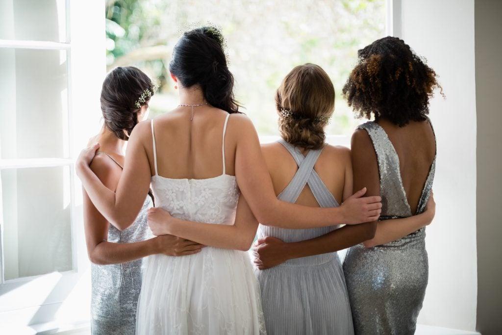 how many bridesmaids
