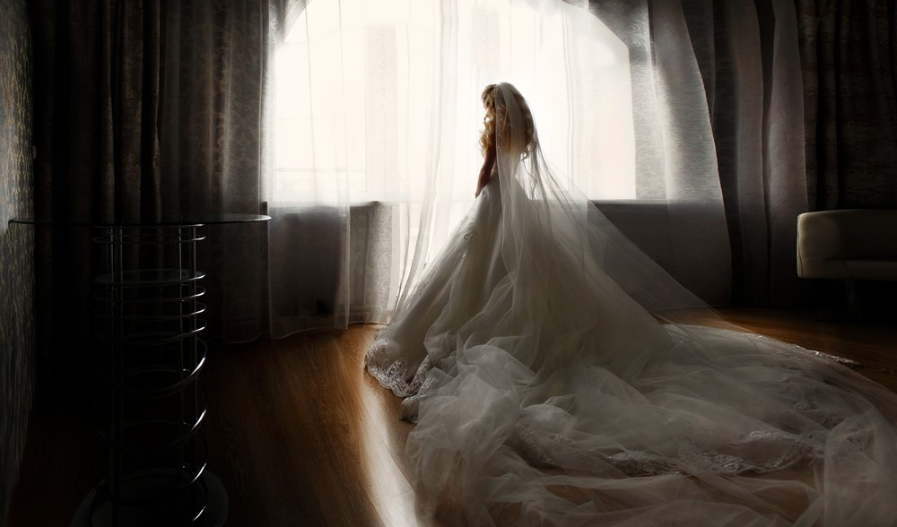 extra long cathedral veil