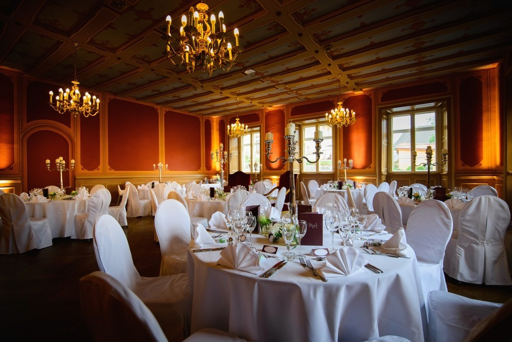 formal wedding venue