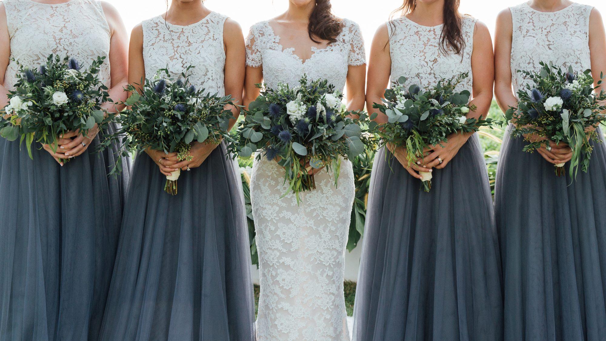 bridesmaid at alter