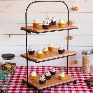 3 tier dessert stand