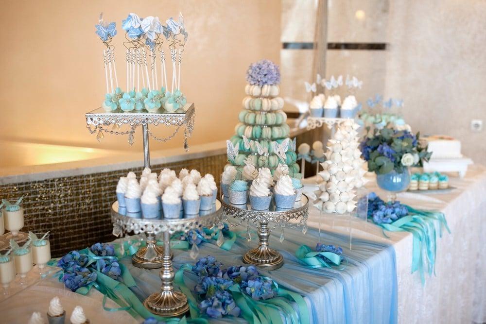 blue desserts