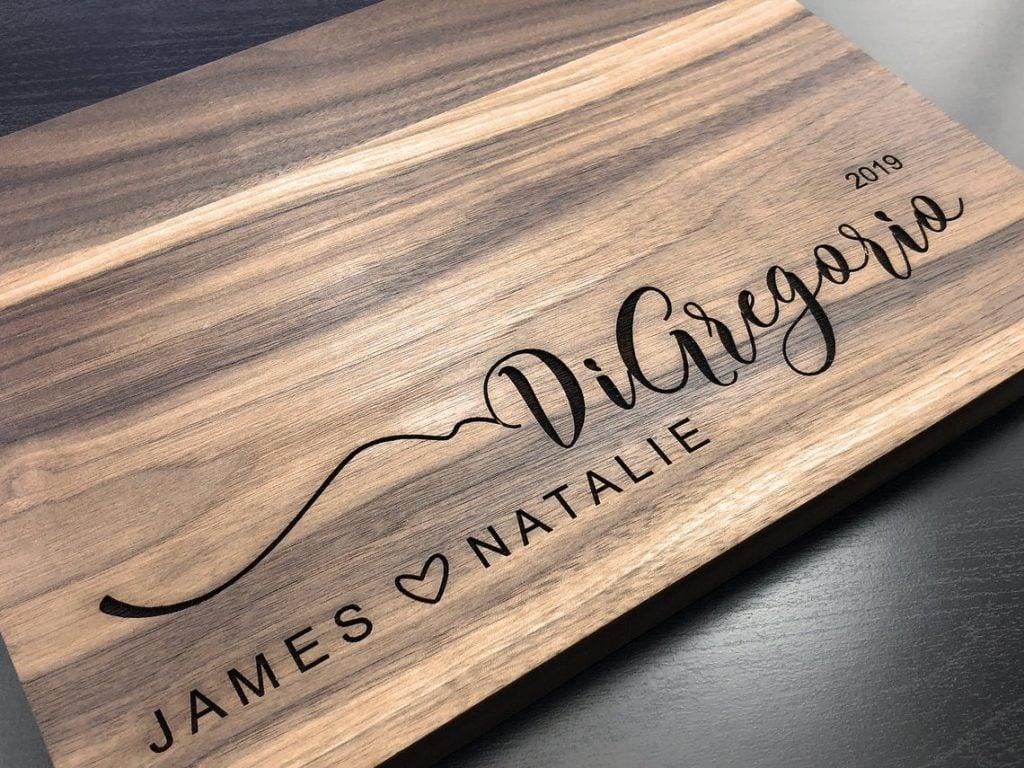 couple cutting board