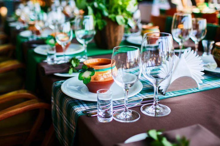 Decorated Table