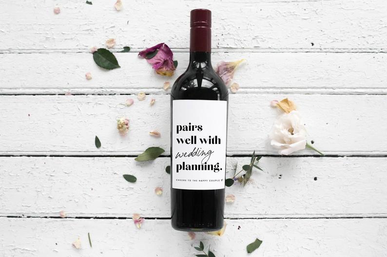 wine label engagement
