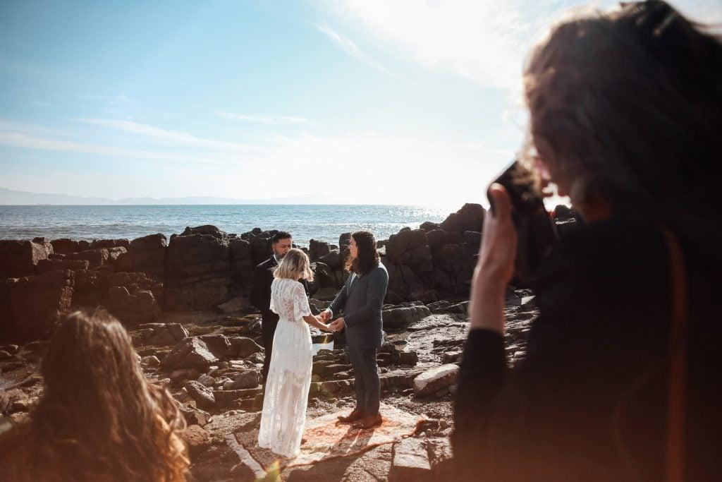 beach wedding officiant