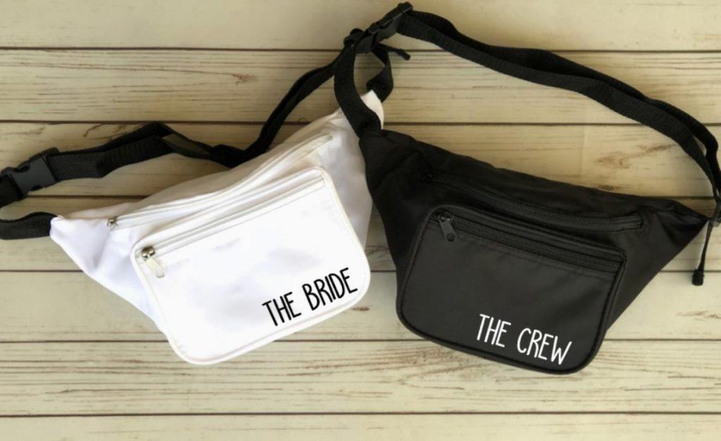 bride crew fanny pack