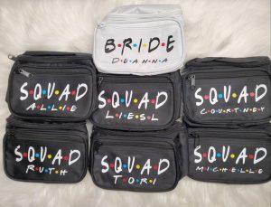friends fanny packs