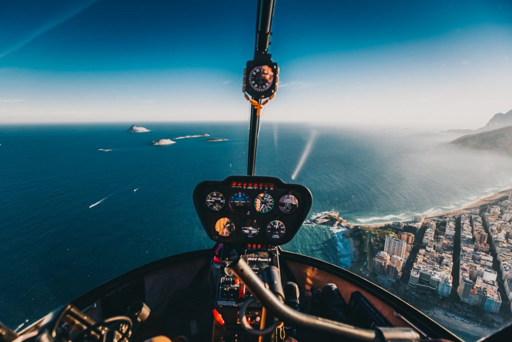 helicopter ride together