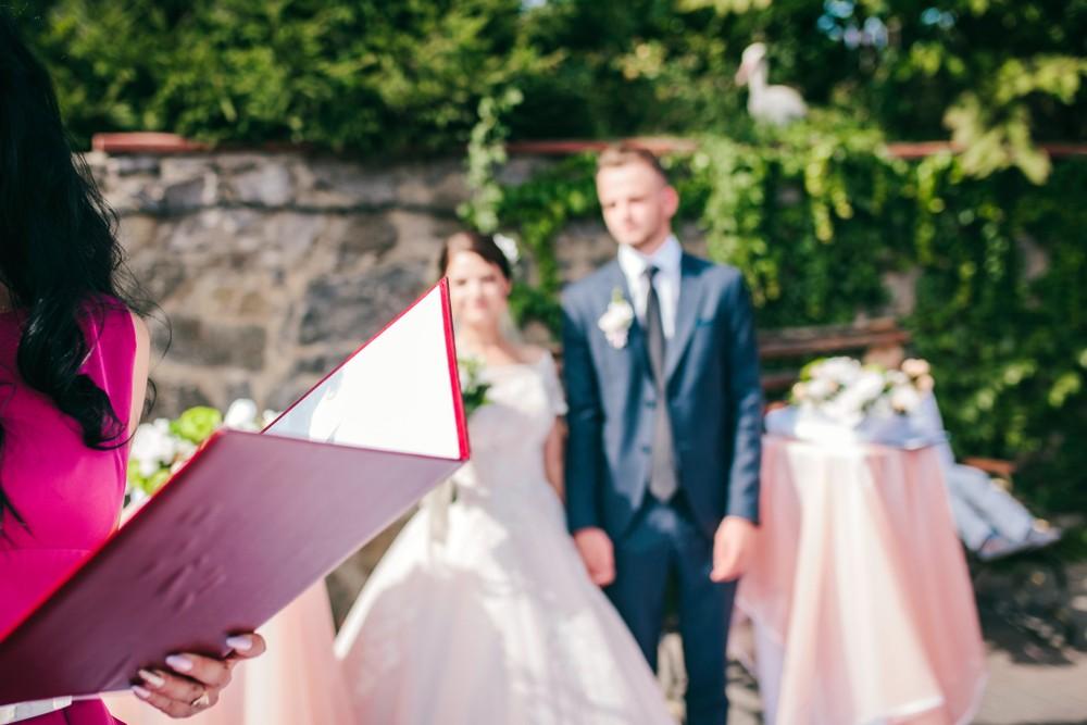 family member wedding officiant