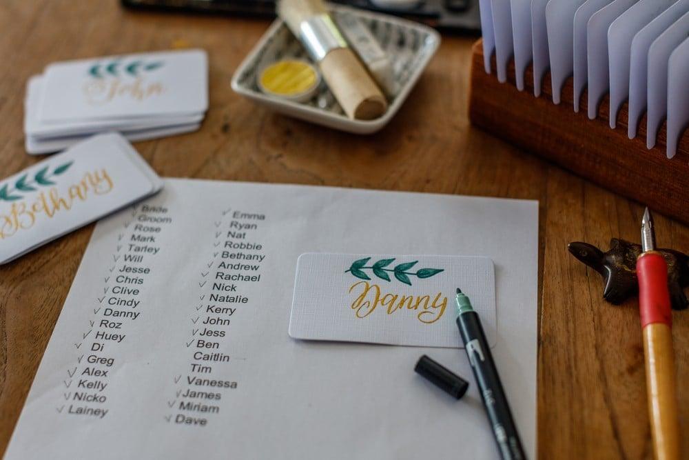 guest list planning