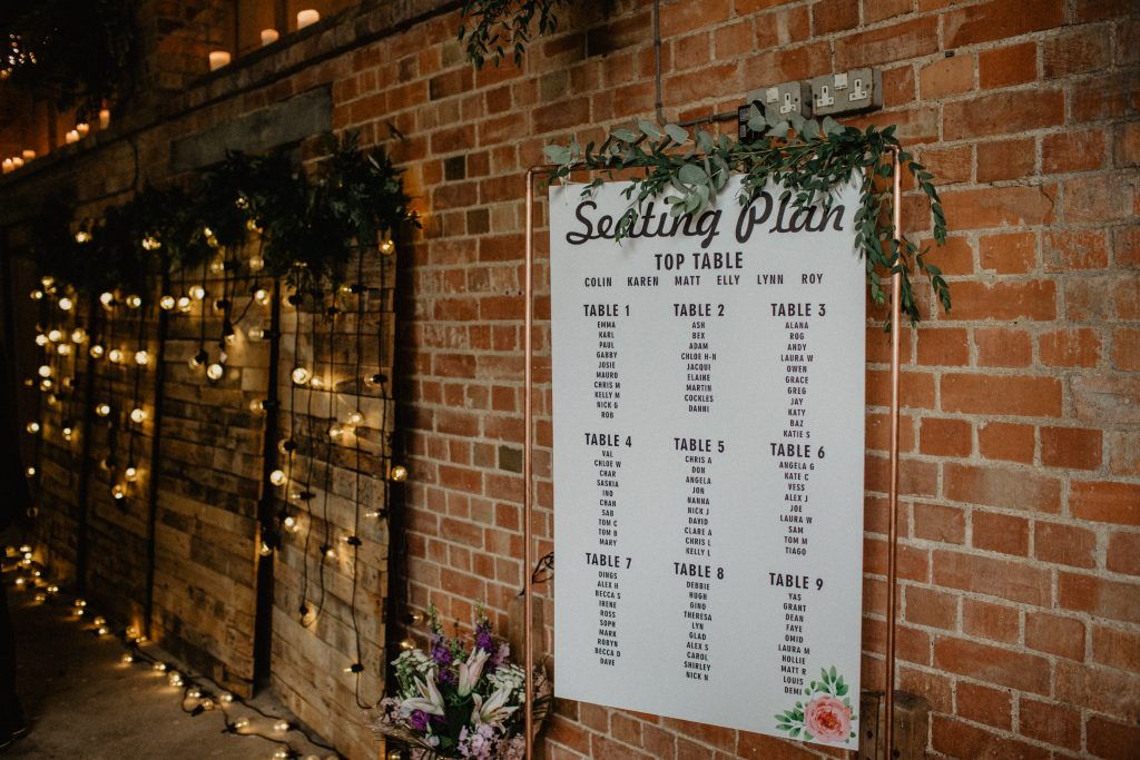 copper seating chart