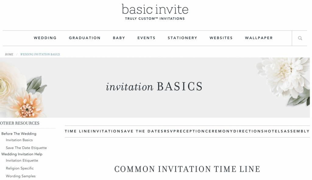 basic invite screenshot