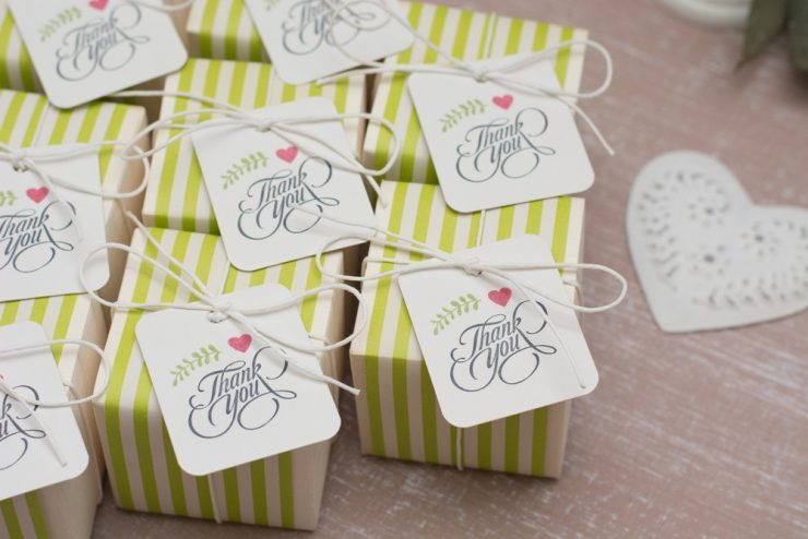 green bridal party gifts