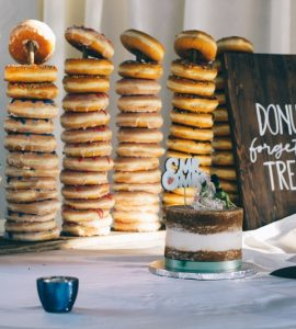 donut wedding cakes