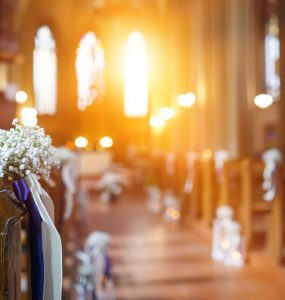 church wedding decorations