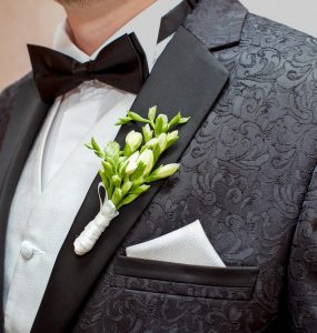 wedding tuxedo or suit
