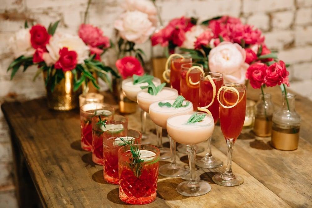 signature wedding cocktails