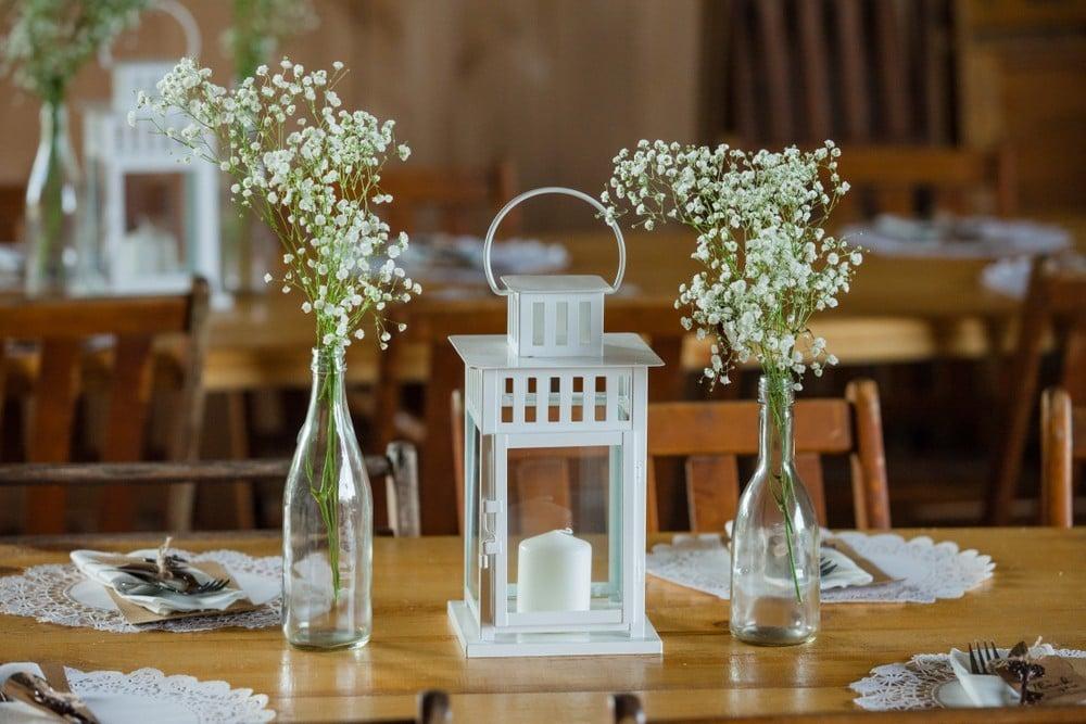 lantern for wedding memory table