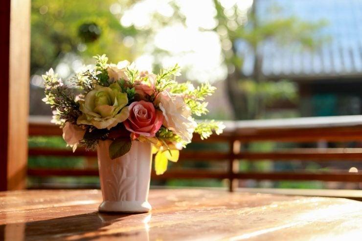 diy fake flower bouquet
