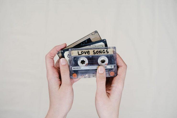 cassettes of love songs
