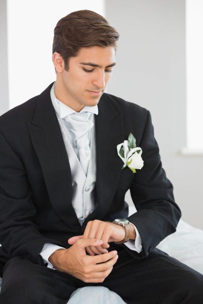 man in full suit
