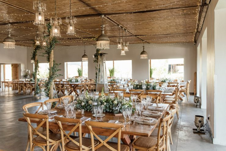 wedding with neutral color palette