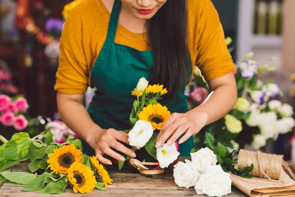 wedding flower vendor