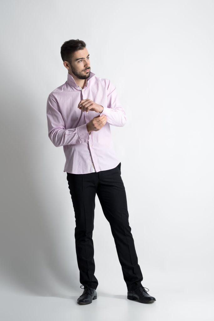 man in casual dress