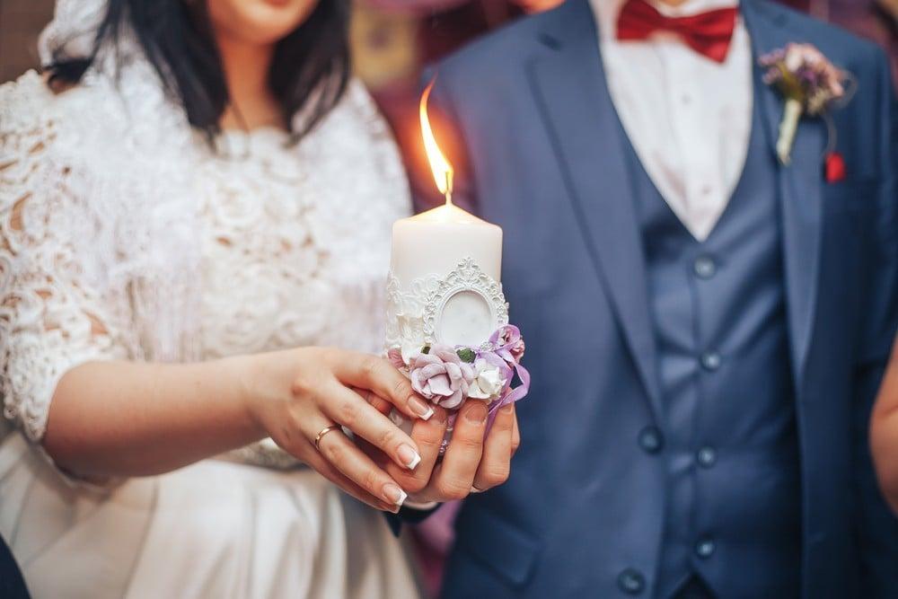 unity candle lighting