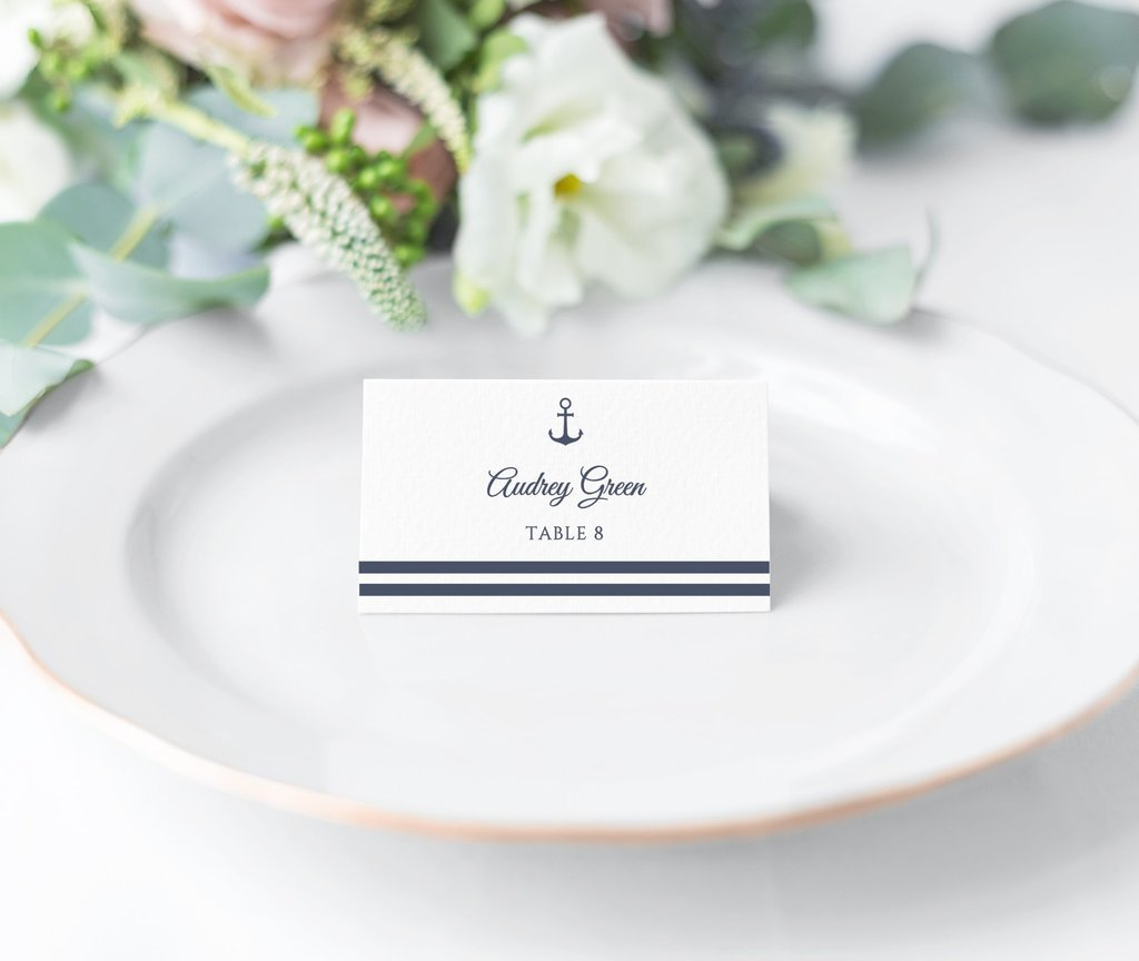 anchor place cards