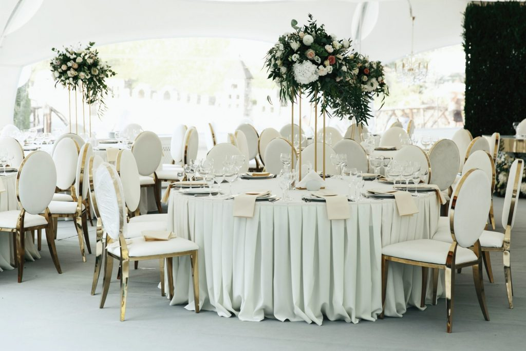 tall towering centerpieces