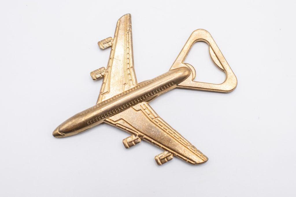 plane bottle opener
