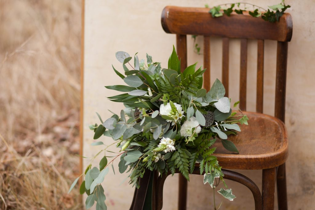assorted greenery bouquet